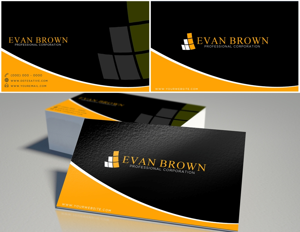 Logo Design by Juan_Kata - Entry No. 174 in the Logo Design Contest Inspiring Logo Design for Evan Brown Professional Corporation.