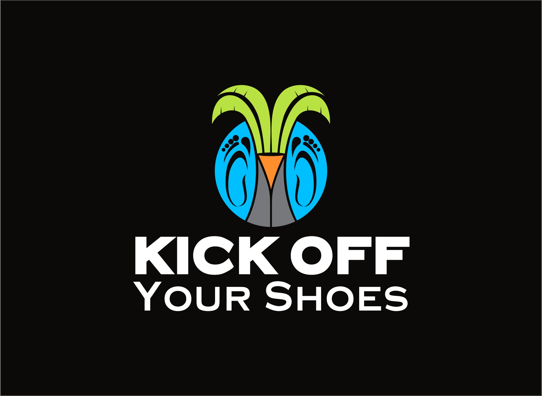 Logo Design by Armada Jamaluddin - Entry No. 48 in the Logo Design Contest New Logo Design for Kick Off Your Shoes.