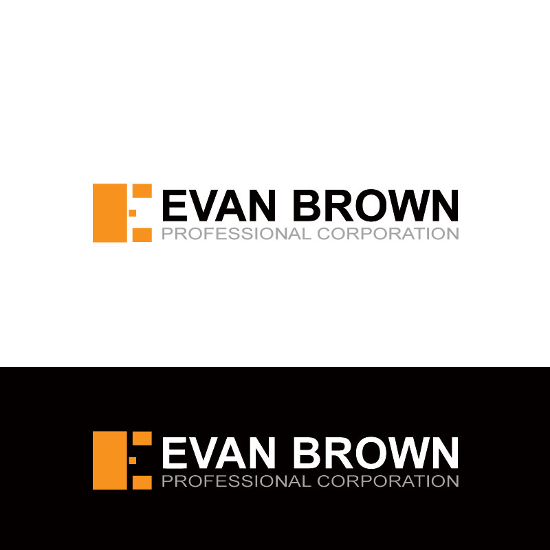 Logo Design by Private User - Entry No. 175 in the Logo Design Contest Inspiring Logo Design for Evan Brown Professional Corporation.