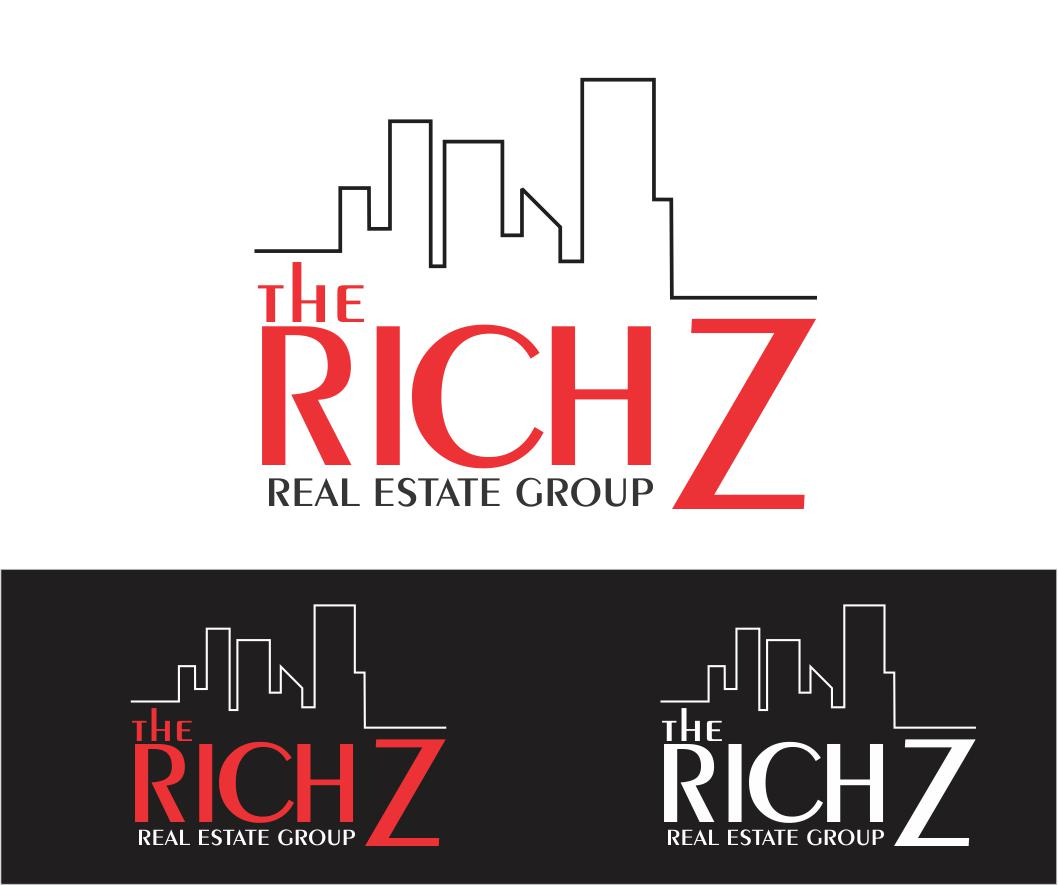 Logo Design by ronny - Entry No. 414 in the Logo Design Contest The Rich Z. Real Estate Group Logo Design.