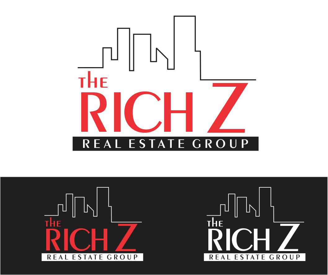 Logo Design by ronny - Entry No. 415 in the Logo Design Contest The Rich Z. Real Estate Group Logo Design.