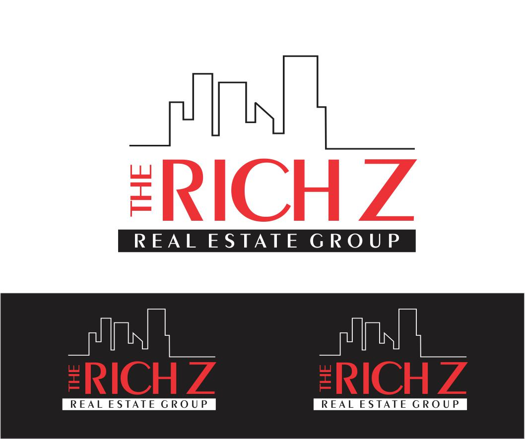 Logo Design by ronny - Entry No. 416 in the Logo Design Contest The Rich Z. Real Estate Group Logo Design.