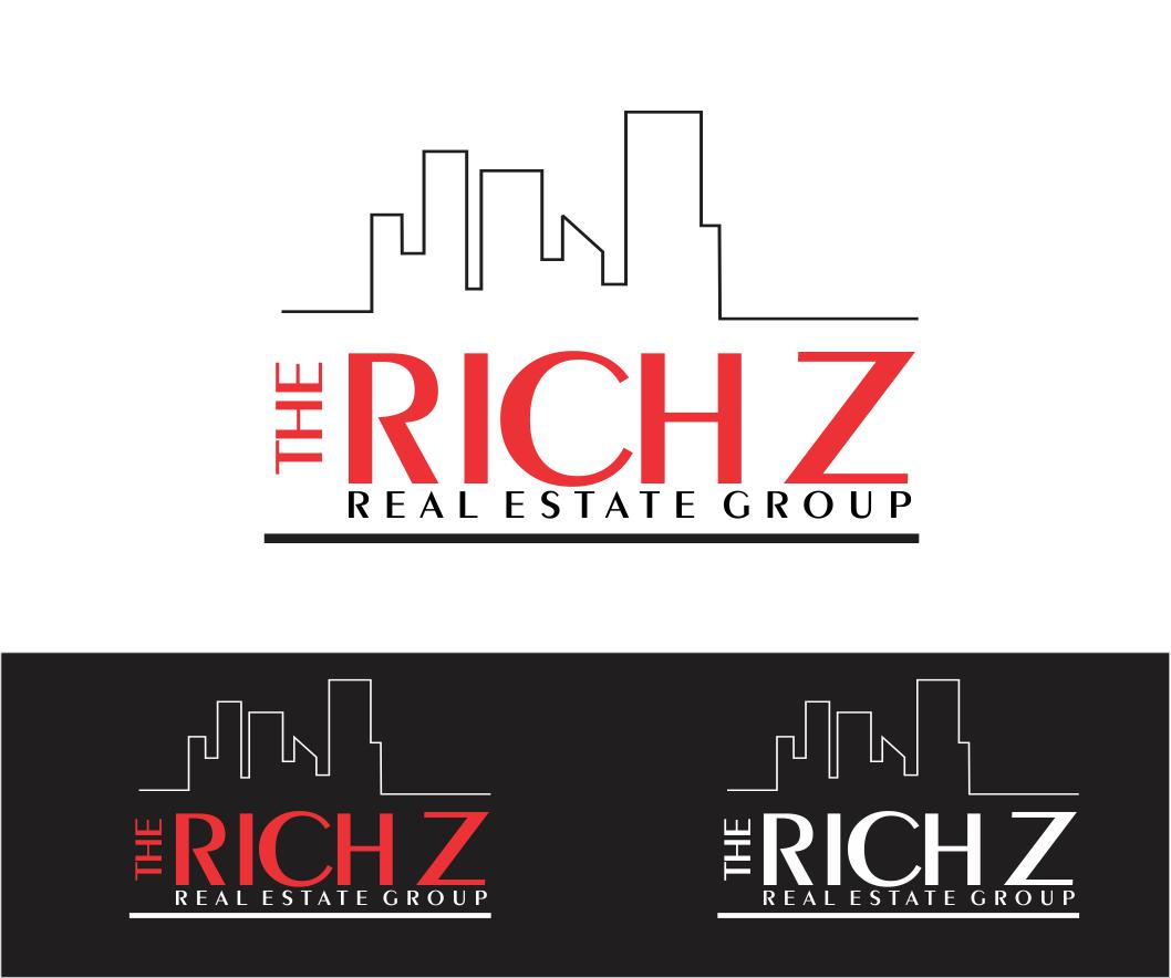 Logo Design by ronny - Entry No. 417 in the Logo Design Contest The Rich Z. Real Estate Group Logo Design.