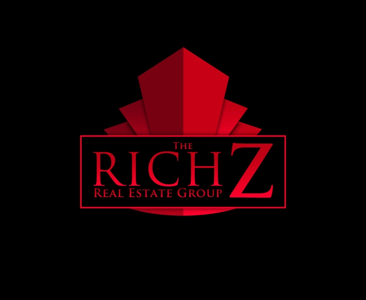 Logo Design by Juan_Kata - Entry No. 426 in the Logo Design Contest The Rich Z. Real Estate Group Logo Design.