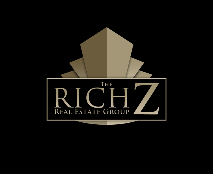 Logo Design by Juan_Kata - Entry No. 427 in the Logo Design Contest The Rich Z. Real Estate Group Logo Design.