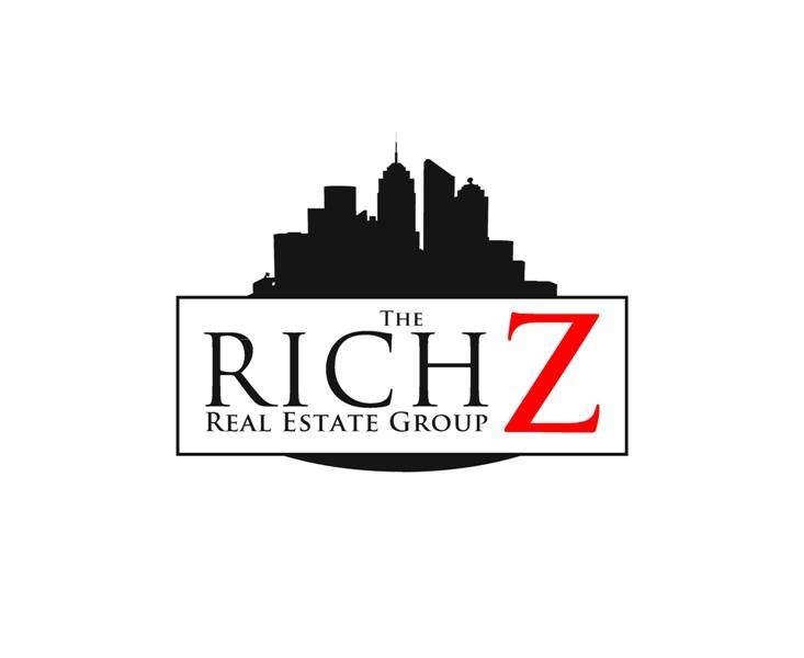 Logo Design by Juan_Kata - Entry No. 428 in the Logo Design Contest The Rich Z. Real Estate Group Logo Design.