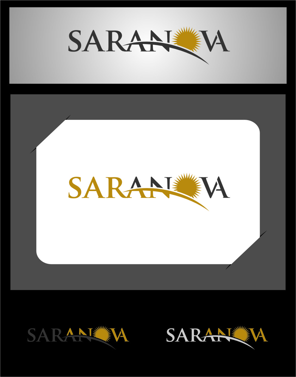 Logo Design by RasYa Muhammad Athaya - Entry No. 6 in the Logo Design Contest Artistic Logo Design for Saranova.