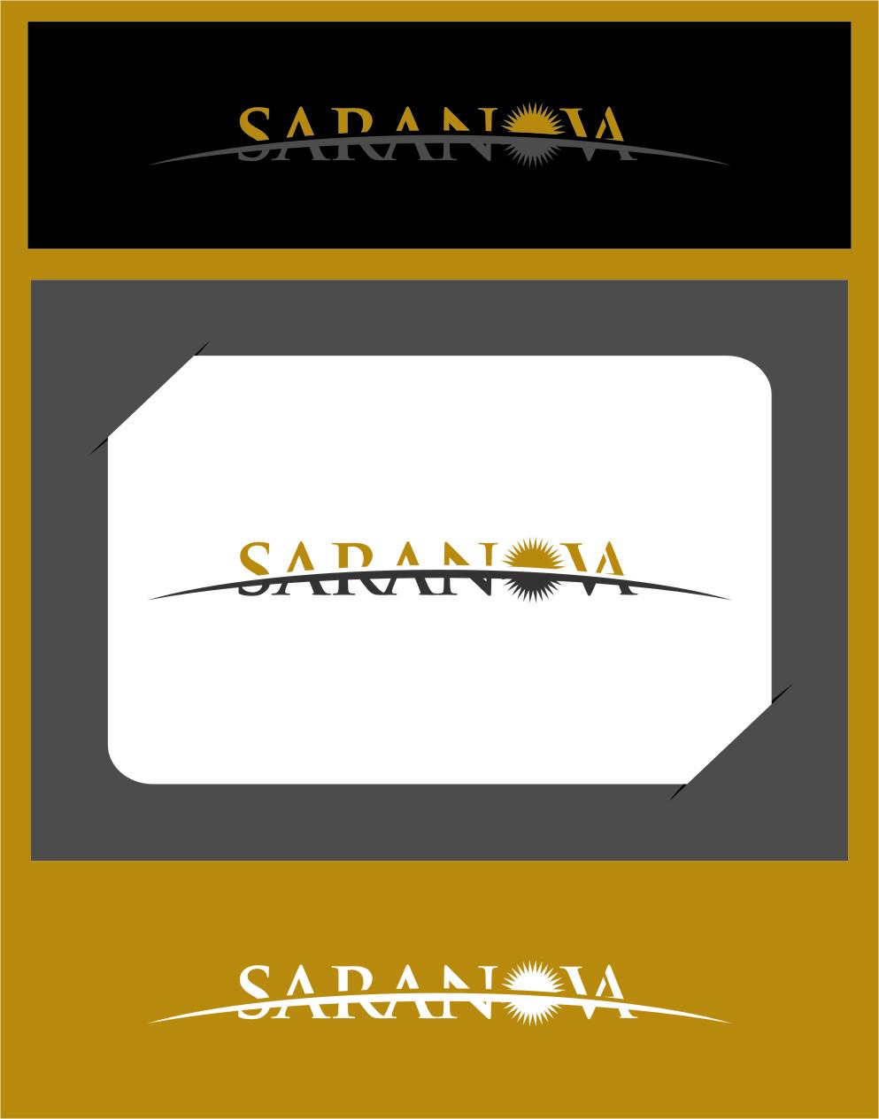 Logo Design by Ngepet_art - Entry No. 10 in the Logo Design Contest Artistic Logo Design for Saranova.