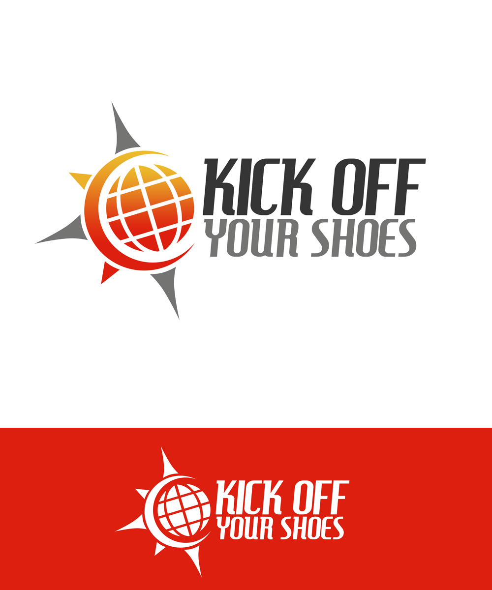 Logo Design by Private User - Entry No. 51 in the Logo Design Contest New Logo Design for Kick Off Your Shoes.