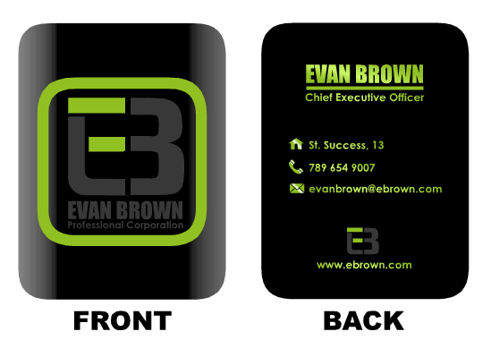 Logo Design by Ismail Adhi Wibowo - Entry No. 176 in the Logo Design Contest Inspiring Logo Design for Evan Brown Professional Corporation.