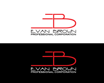 Logo Design by Private User - Entry No. 177 in the Logo Design Contest Inspiring Logo Design for Evan Brown Professional Corporation.