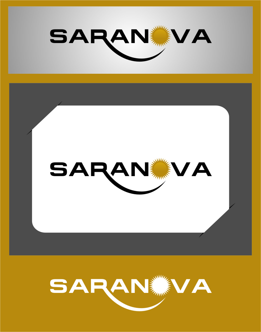 Logo Design by RoSyid Rono-Rene On Java - Entry No. 26 in the Logo Design Contest Artistic Logo Design for Saranova.