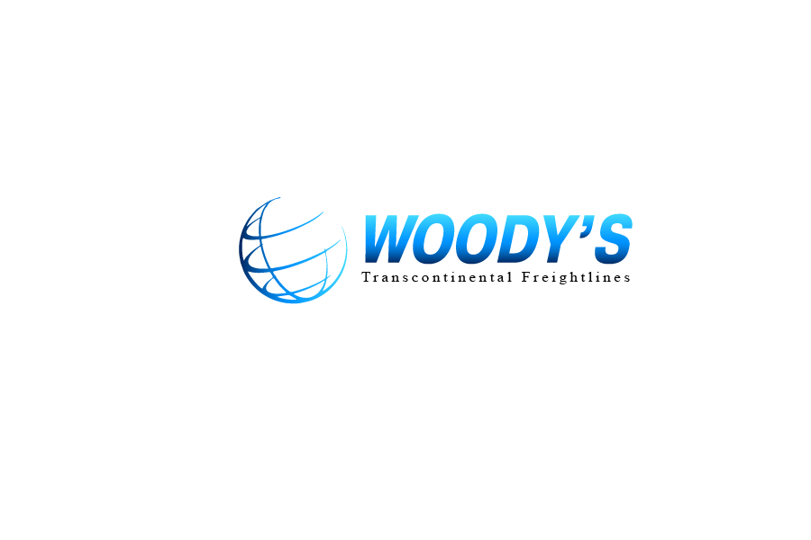 Logo Design by Private User - Entry No. 4 in the Logo Design Contest Creative Logo Design for Woody's Transcontinental Freightlines.