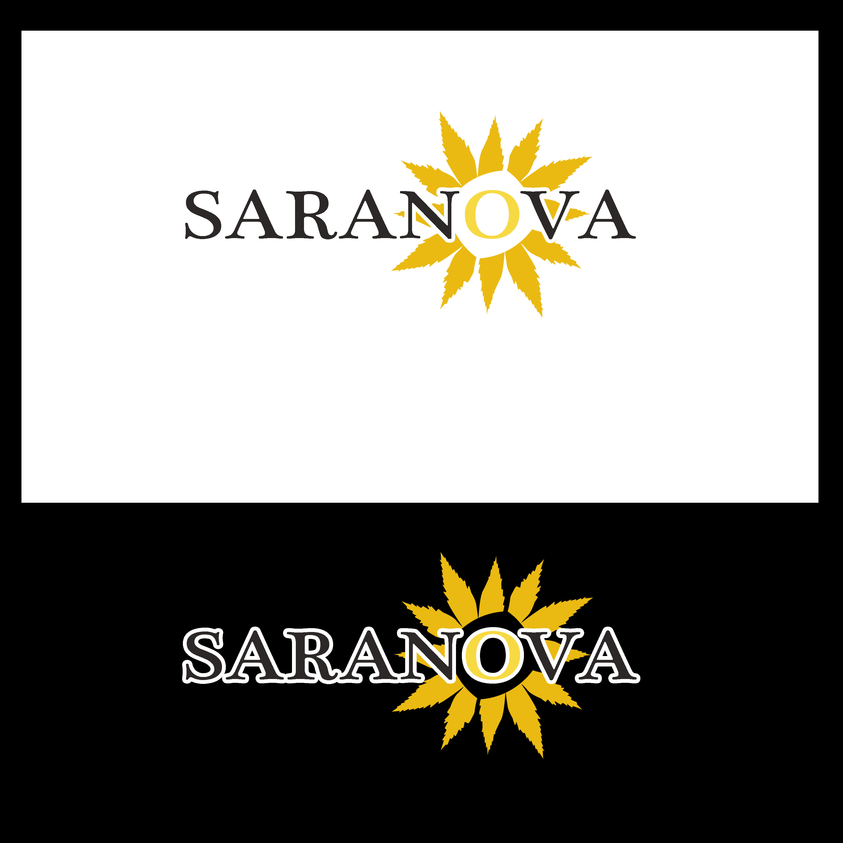 Logo Design by Allan Esclamado - Entry No. 35 in the Logo Design Contest Artistic Logo Design for Saranova.