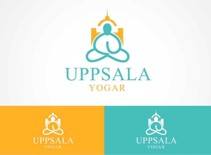 Logo Design by Jan Chua - Entry No. 56 in the Logo Design Contest Unique Logo Design Wanted for Uppsala Yogar.