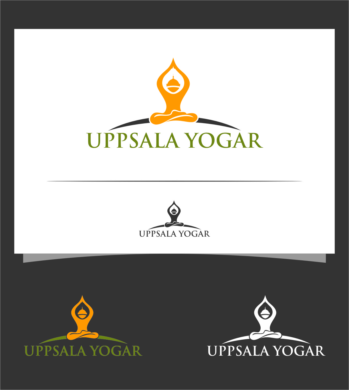 Logo Design by RasYa Muhammad Athaya - Entry No. 61 in the Logo Design Contest Unique Logo Design Wanted for Uppsala Yogar.