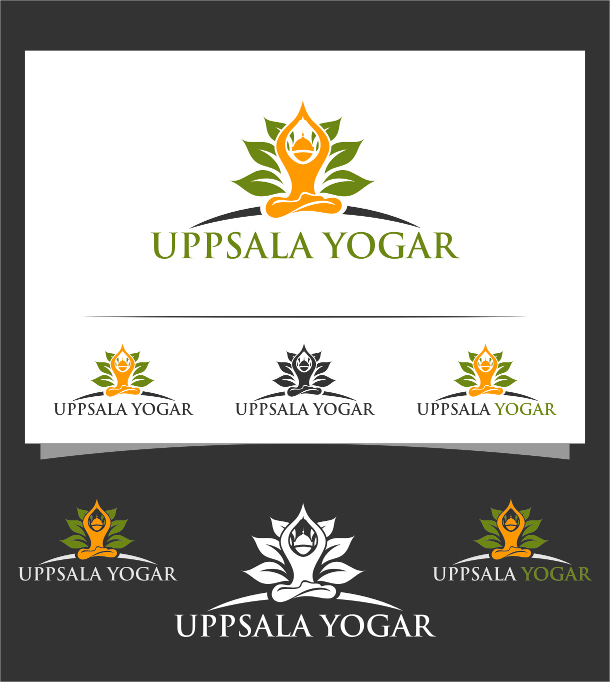 Logo Design by RasYa Muhammad Athaya - Entry No. 62 in the Logo Design Contest Unique Logo Design Wanted for Uppsala Yogar.