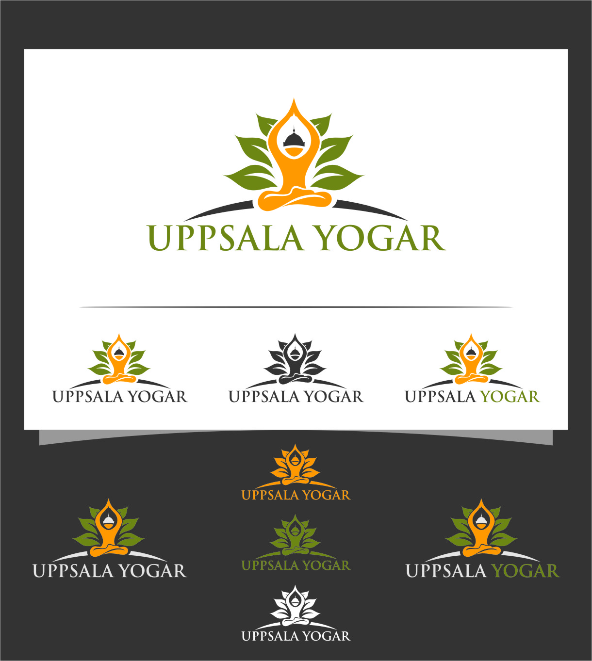 Logo Design by RasYa Muhammad Athaya - Entry No. 63 in the Logo Design Contest Unique Logo Design Wanted for Uppsala Yogar.