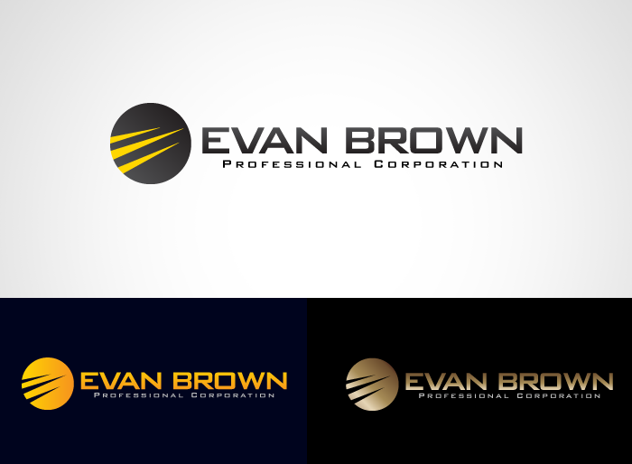 Logo Design by Jan Chua - Entry No. 186 in the Logo Design Contest Inspiring Logo Design for Evan Brown Professional Corporation.
