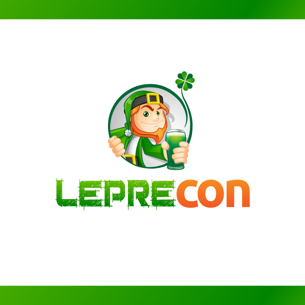 Logo Design by chinie05 - Entry No. 67 in the Logo Design Contest FUN Logo Design for *LepreCon* St. Patrick's Event [WILL END EARLY JAN. 26].