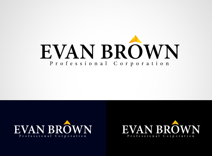 Logo Design by Jan Chua - Entry No. 187 in the Logo Design Contest Inspiring Logo Design for Evan Brown Professional Corporation.