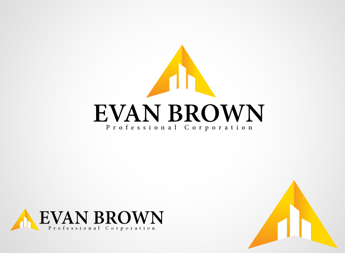 Logo Design by Jan Chua - Entry No. 188 in the Logo Design Contest Inspiring Logo Design for Evan Brown Professional Corporation.