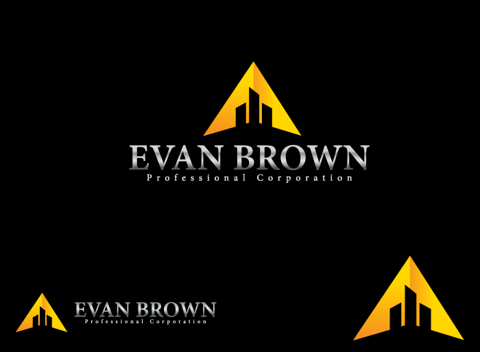 Logo Design by Jan Chua - Entry No. 189 in the Logo Design Contest Inspiring Logo Design for Evan Brown Professional Corporation.