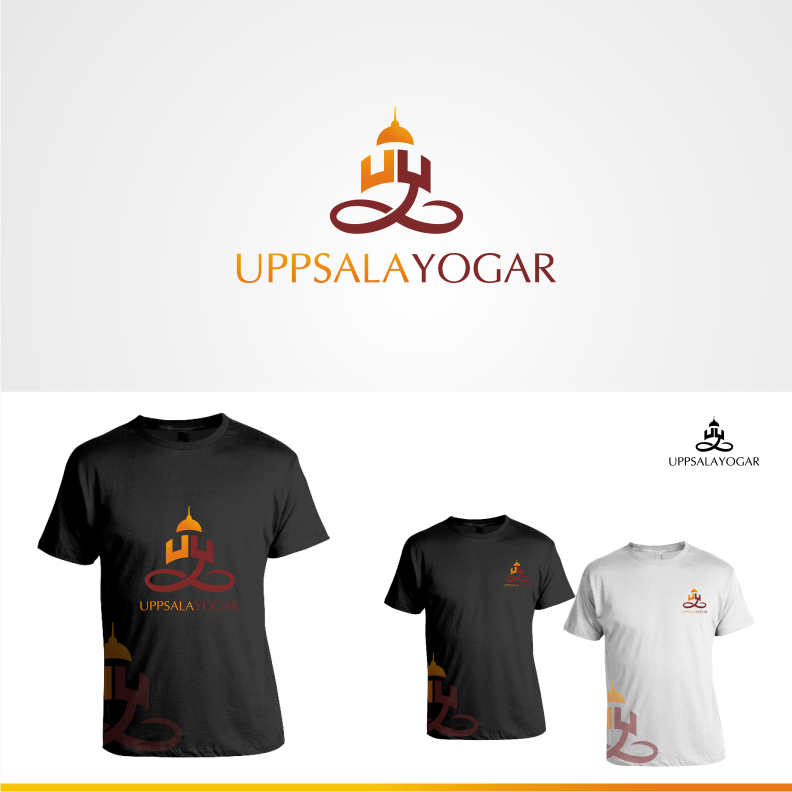 Logo Design by Muhammad Nasrul chasib - Entry No. 69 in the Logo Design Contest Unique Logo Design Wanted for Uppsala Yogar.