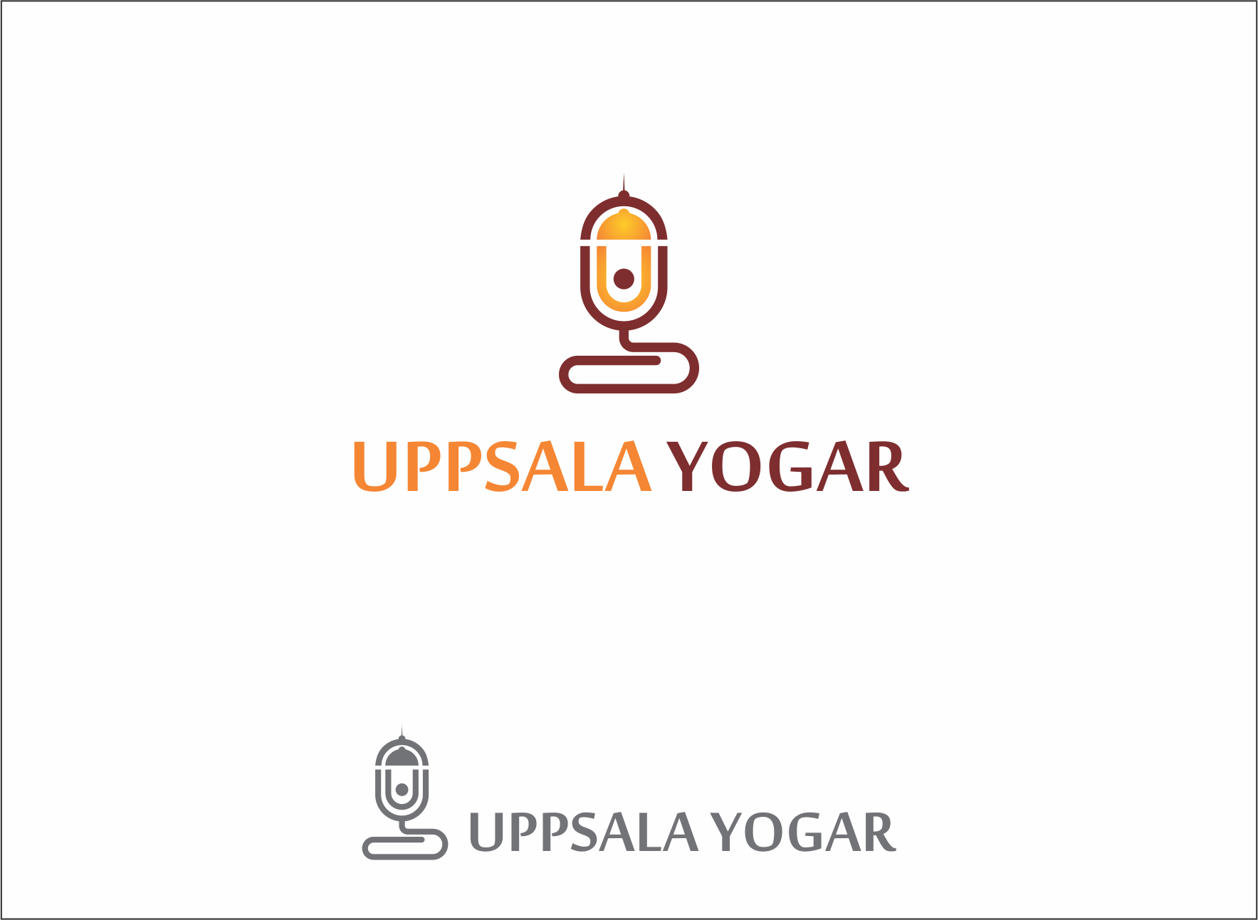 Logo Design by Armada Jamaluddin - Entry No. 70 in the Logo Design Contest Unique Logo Design Wanted for Uppsala Yogar.