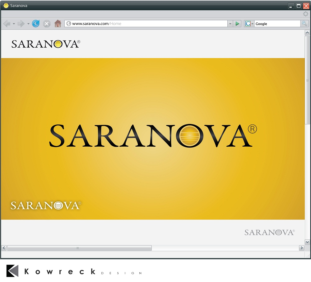 Logo Design by kowreck - Entry No. 49 in the Logo Design Contest Artistic Logo Design for Saranova.