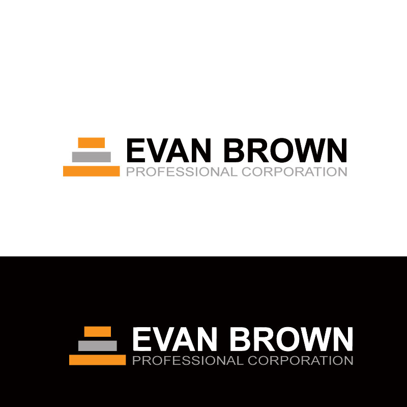 Logo Design by Private User - Entry No. 192 in the Logo Design Contest Inspiring Logo Design for Evan Brown Professional Corporation.