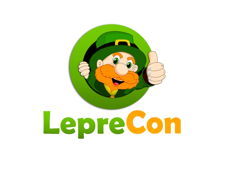 Logo Design by Juan_Kata - Entry No. 70 in the Logo Design Contest FUN Logo Design for *LepreCon* St. Patrick's Event [WILL END EARLY JAN. 26].
