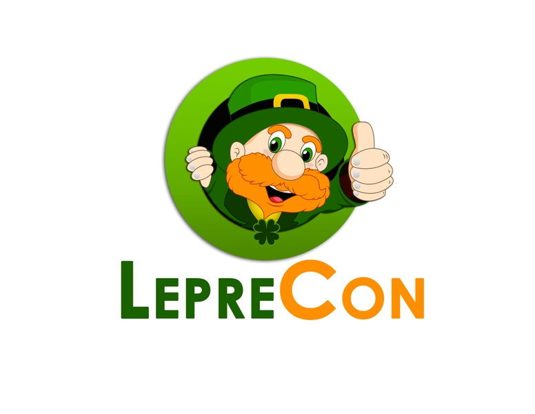 Logo Design by Juan_Kata - Entry No. 71 in the Logo Design Contest FUN Logo Design for *LepreCon* St. Patrick's Event [WILL END EARLY JAN. 26].