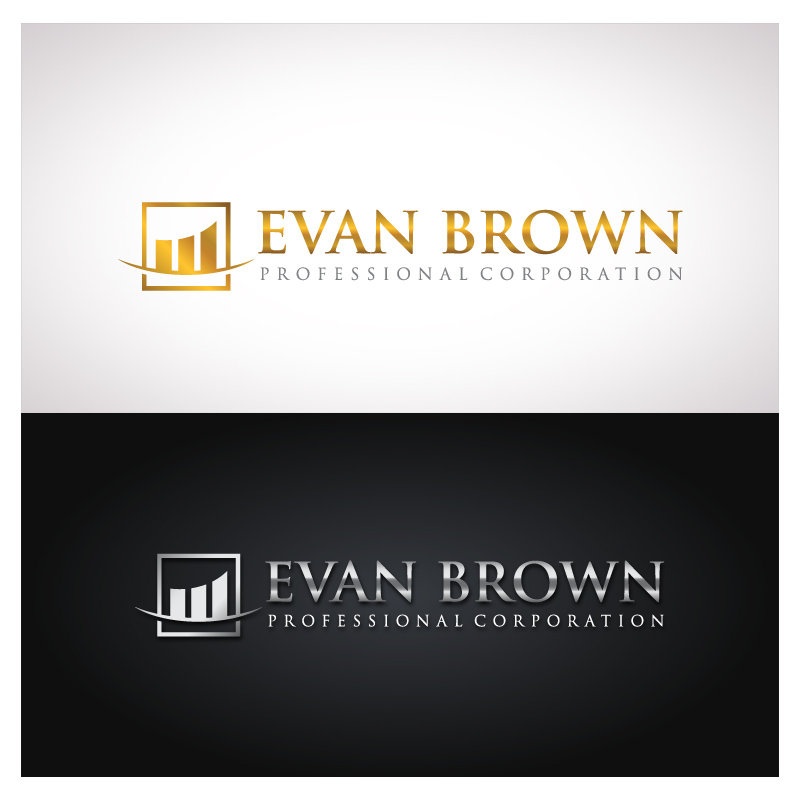 Logo Design by Puspita Wahyuni - Entry No. 196 in the Logo Design Contest Inspiring Logo Design for Evan Brown Professional Corporation.