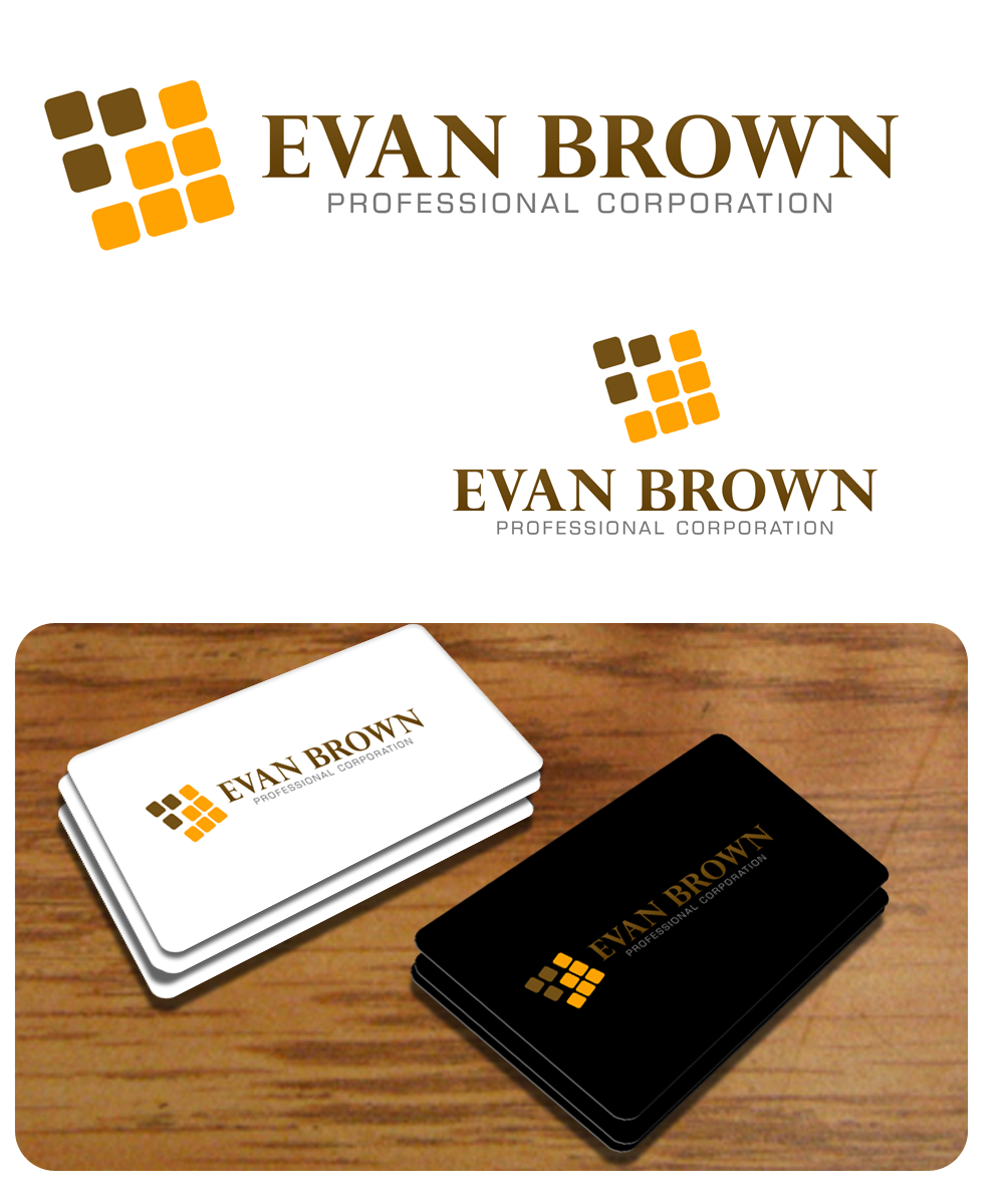 Logo Design by Private User - Entry No. 197 in the Logo Design Contest Inspiring Logo Design for Evan Brown Professional Corporation.