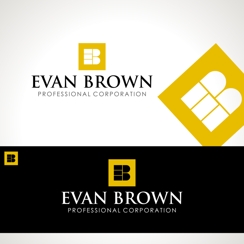 Logo Design by Private User - Entry No. 203 in the Logo Design Contest Inspiring Logo Design for Evan Brown Professional Corporation.