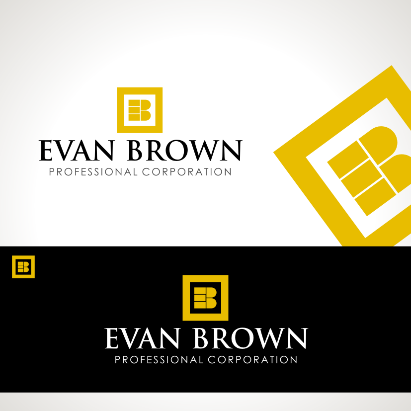 Logo Design by Private User - Entry No. 204 in the Logo Design Contest Inspiring Logo Design for Evan Brown Professional Corporation.