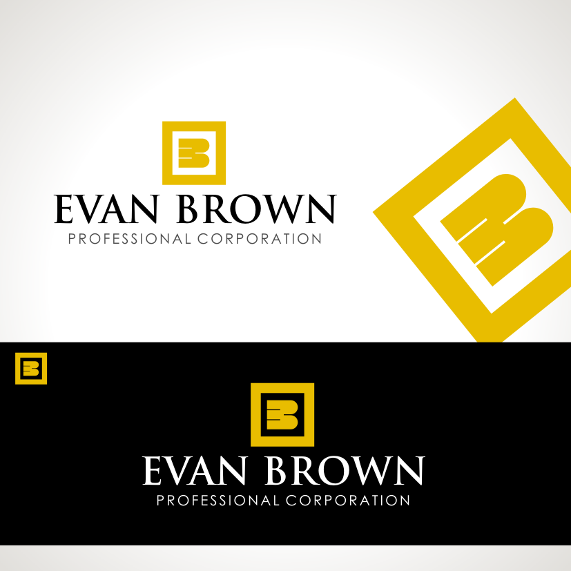 Logo Design by Private User - Entry No. 205 in the Logo Design Contest Inspiring Logo Design for Evan Brown Professional Corporation.