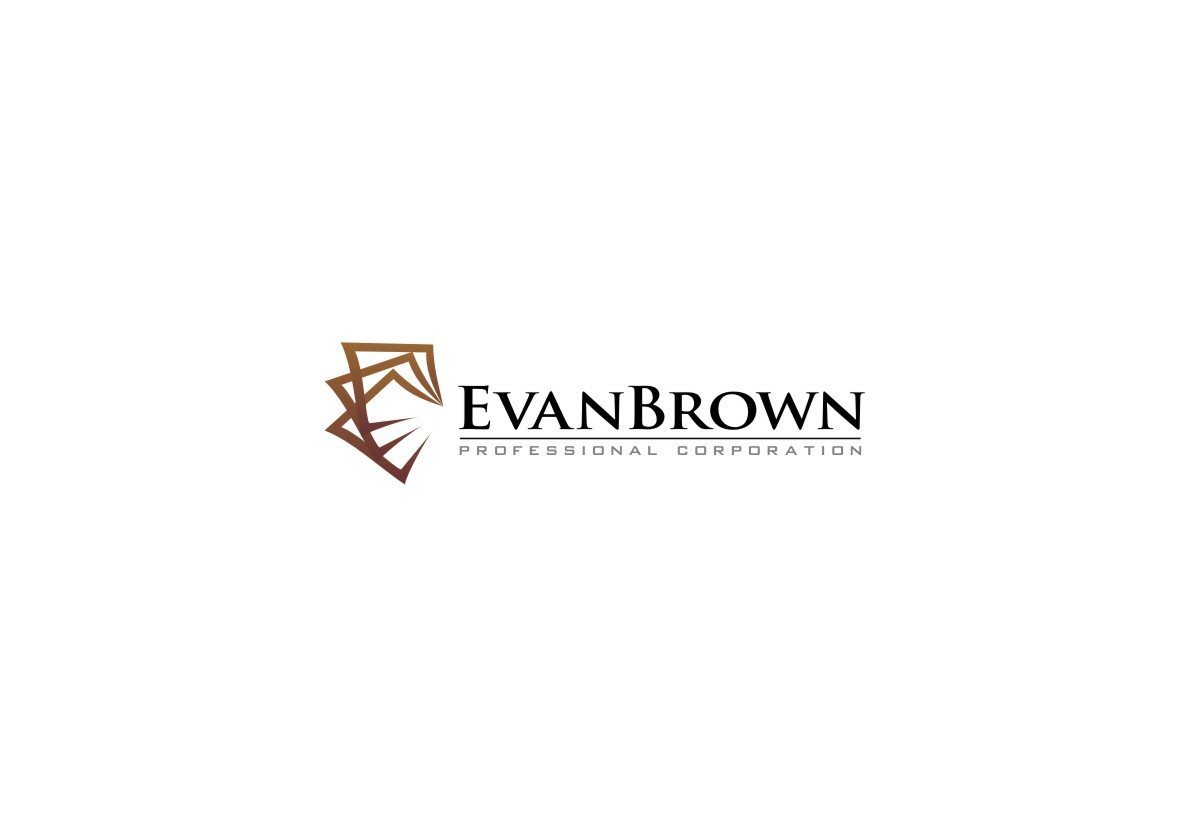 Logo Design by untung - Entry No. 207 in the Logo Design Contest Inspiring Logo Design for Evan Brown Professional Corporation.