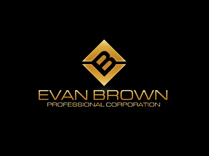 Logo Design by Private User - Entry No. 208 in the Logo Design Contest Inspiring Logo Design for Evan Brown Professional Corporation.