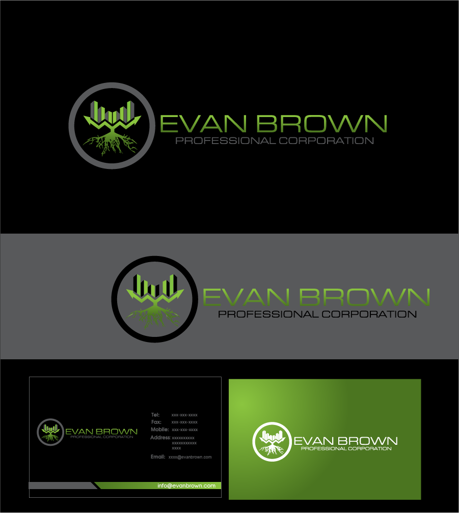 Logo Design by Private User - Entry No. 210 in the Logo Design Contest Inspiring Logo Design for Evan Brown Professional Corporation.