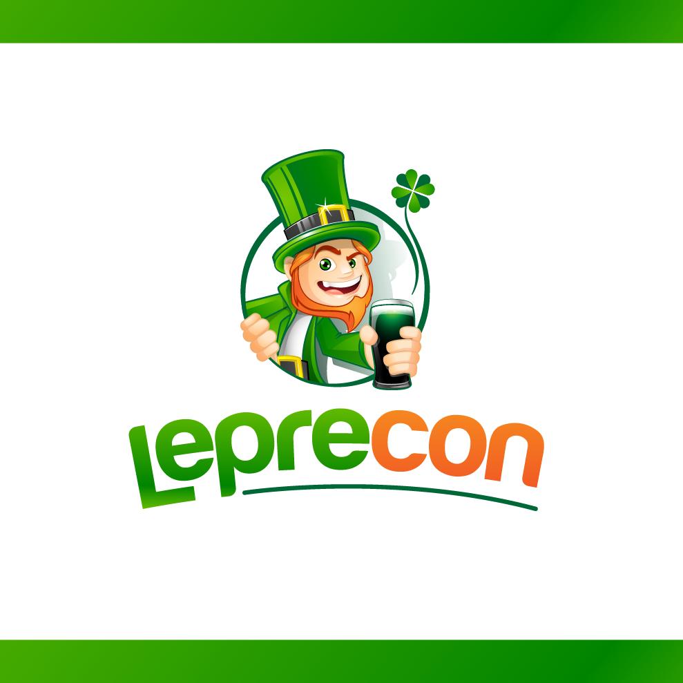 Logo Design by chinie05 - Entry No. 73 in the Logo Design Contest FUN Logo Design for *LepreCon* St. Patrick's Event [WILL END EARLY JAN. 26].