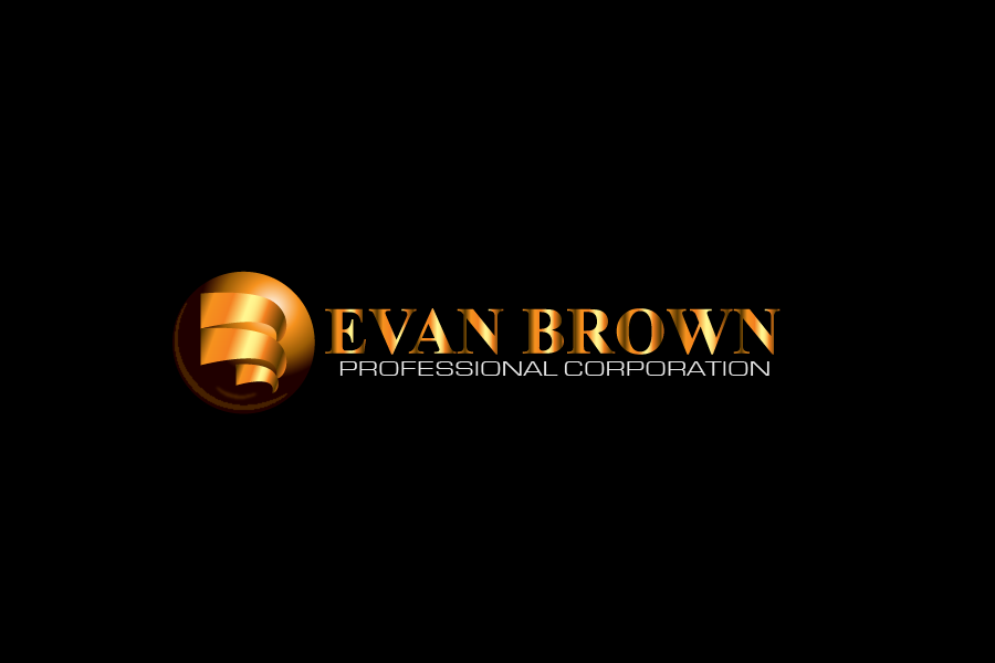 Logo Design by Private User - Entry No. 212 in the Logo Design Contest Inspiring Logo Design for Evan Brown Professional Corporation.