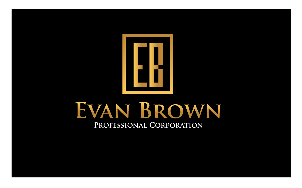 Logo Design by Jagdeep Singh - Entry No. 213 in the Logo Design Contest Inspiring Logo Design for Evan Brown Professional Corporation.