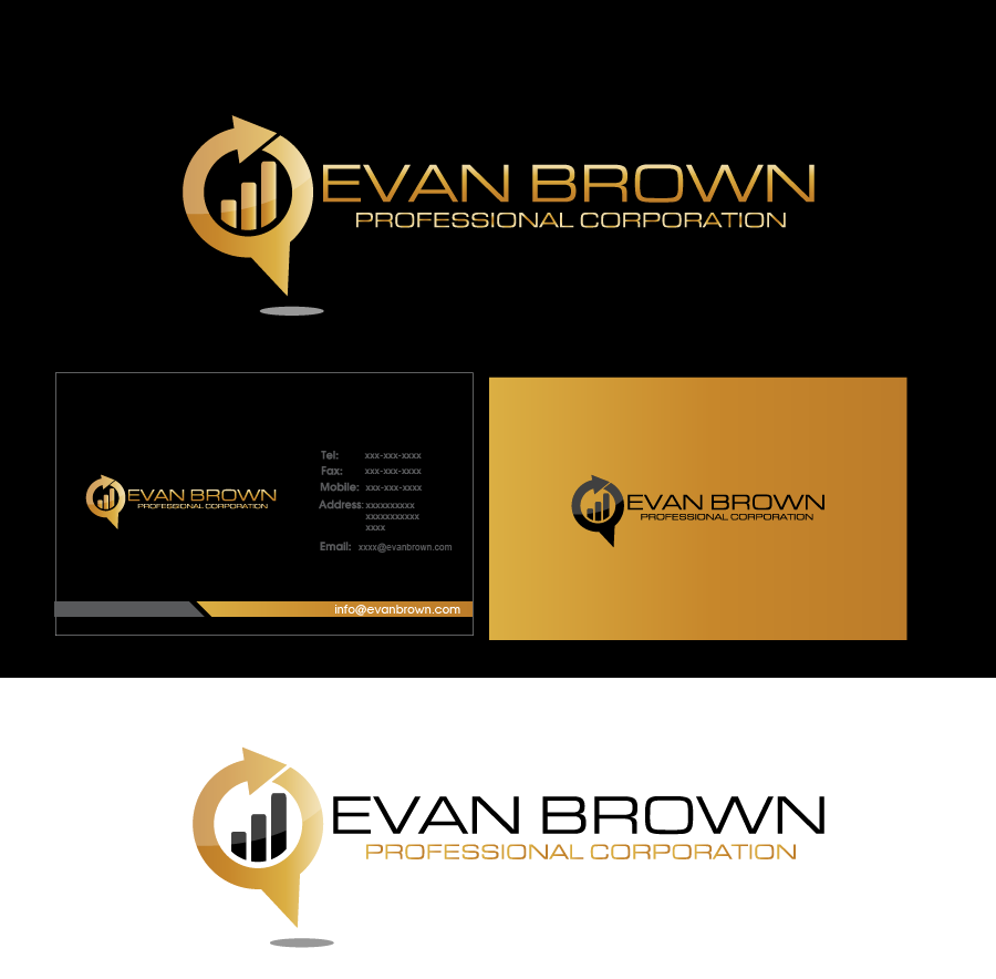 Logo Design by Private User - Entry No. 215 in the Logo Design Contest Inspiring Logo Design for Evan Brown Professional Corporation.