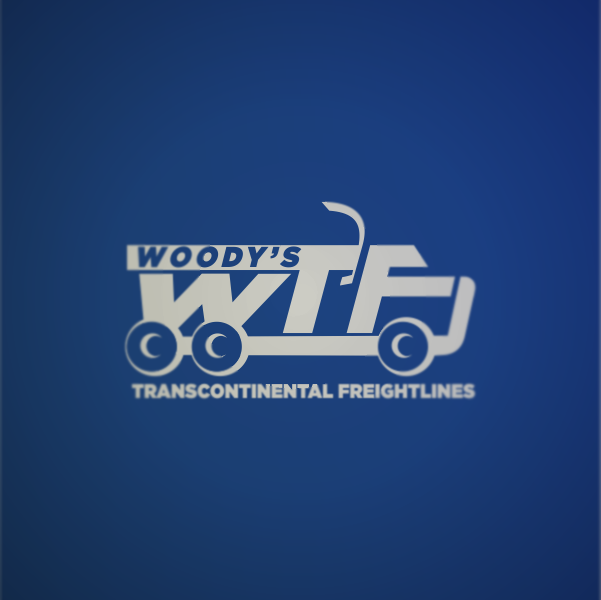 Logo Design by Private User - Entry No. 8 in the Logo Design Contest Creative Logo Design for Woody's Transcontinental Freightlines.