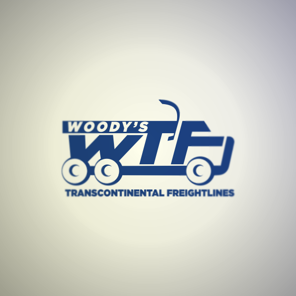 Logo Design by Private User - Entry No. 9 in the Logo Design Contest Creative Logo Design for Woody's Transcontinental Freightlines.