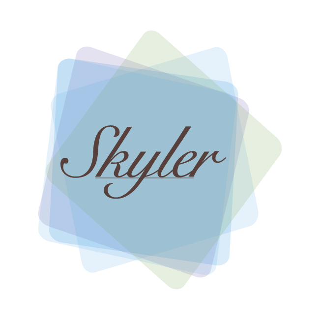 Logo Design by dottDesign - Entry No. 28 in the Logo Design Contest Skyler Clothing Logo.