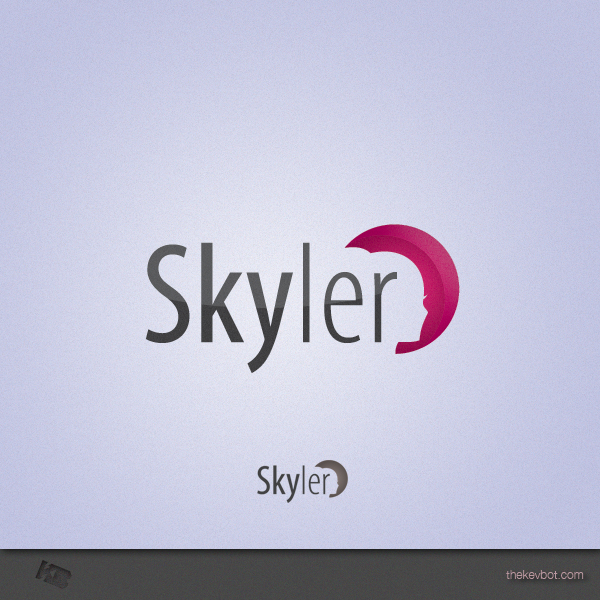 Logo Design by Kevin  Haag - Entry No. 29 in the Logo Design Contest Skyler Clothing Logo.