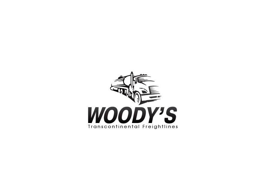 Logo Design by brands_in - Entry No. 16 in the Logo Design Contest Creative Logo Design for Woody's Transcontinental Freightlines.